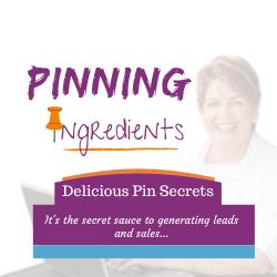 Pinning Ingredients for Pinterest