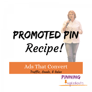 Promoted Pin Recipe